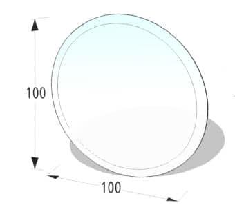 Kreis Ø 100 cm
