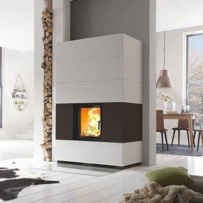 Kaminbausatz Schmid S7 Hoch - Designbeton