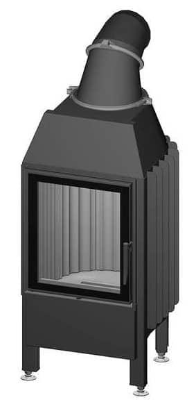 Kamineinsatz Spartherm Mini Z1-10,0kW - Türanschlag links