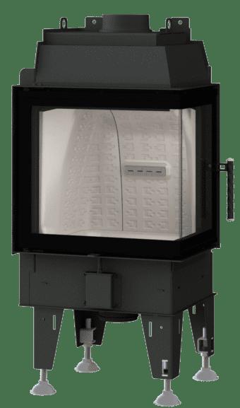 Kamineinsatz BeF Therm 6 CP - Fenstereck rechts