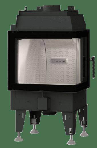 Kamineinsatz BeF Therm 7 CP - Fenstereck rechts