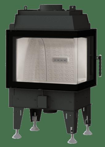 Kamineinsatz BeF Therm 8 CP - Fenstereck rechts