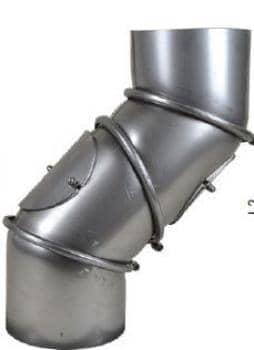 Multibogen 4-teilig drehbar, schutzlackiert