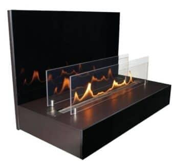Bio-Ethanolkamin ebios-fire Quadra Wall