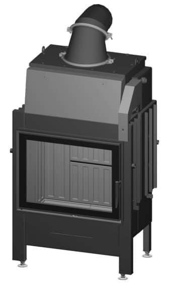 Kamineinsatz Spartherm Varia 1V H2O XL - Türanschlag links