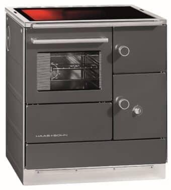 Tischherd Haas + Sohn HSDH 75.5-SF easy - Glaskeramikplatte   anthrazit