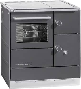 Tischherd Haas + Sohn HSDH 75.5-SF easy - Stahlplatte | anthrazit
