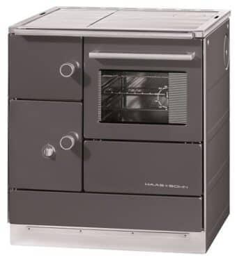 Tischherd Haas + Sohn HSDH 75.5-SF easy - Stahlplatte   anthrazit