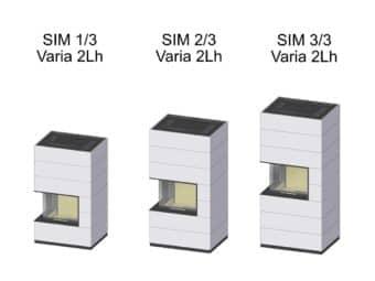Kaminbausatz Spartherm SIM Varia 2Lh