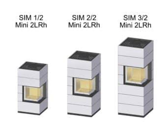 Kaminbausatz Spartherm SIM Mini 2LRh