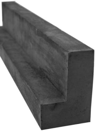 Ortner Kaminbauplatte L-Trägerstein